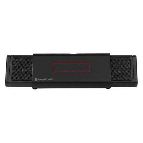 Sideswipe portable Bluetooth® and NFC speaker