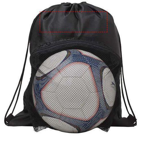 Goal football drawstring backpack