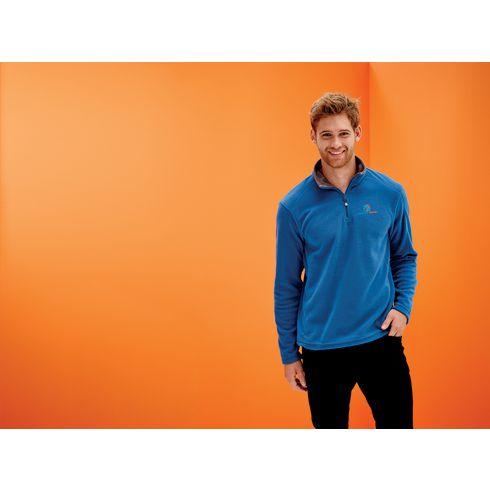 Regatta Micro Zip Neck Fleece Sweater Mens