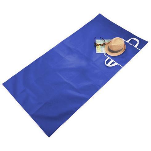 Sand-dune foldable beach mat
