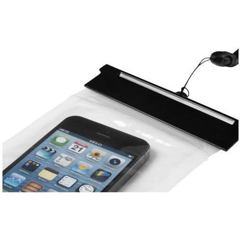 Splash waterproof touch-screen smartphone pouch