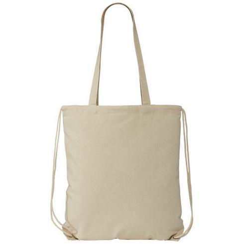 Eliza 240 g/m² cotton drawstring backpack