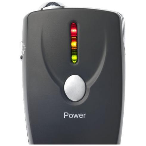 Inebreeze alcohol breath analyser keychain