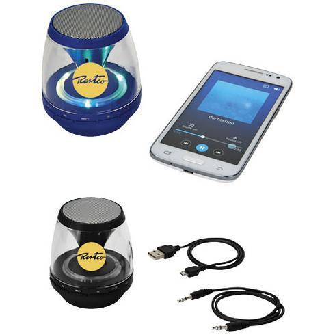 Rave light-up Bluetooth® portable speaker