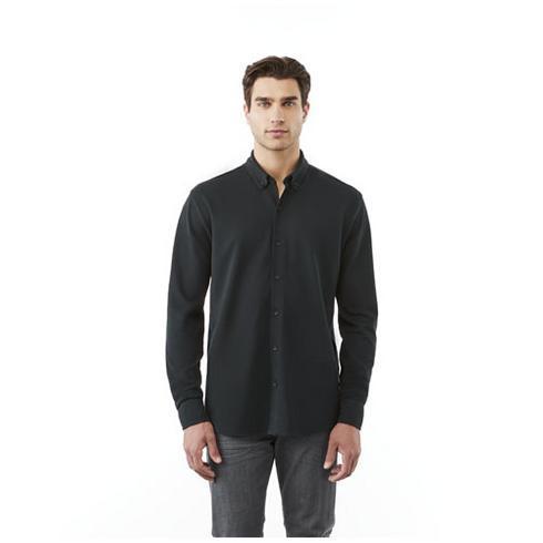 Bigelow long sleeve men's pique shirt