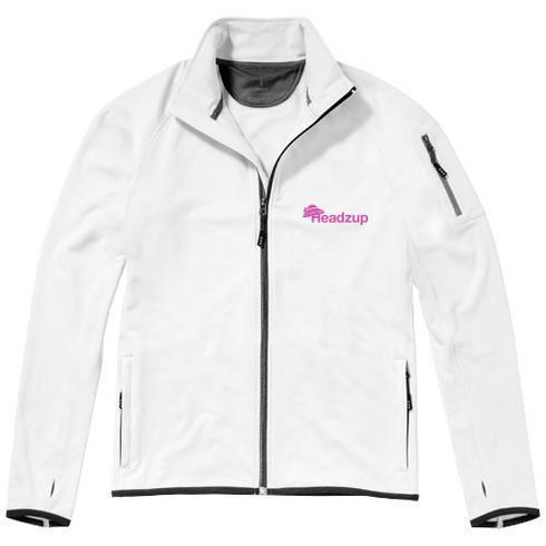 Mani power fleece full zip jacket